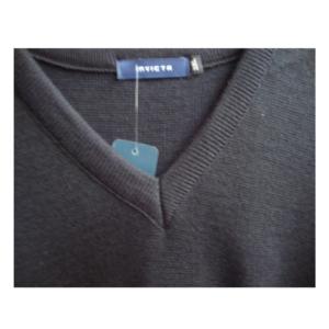 V Neck Acrylic Pullover