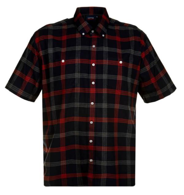 Brushed Cotton Shirt Short Sleeve