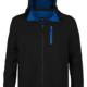Softshell Jacket Black-Royal