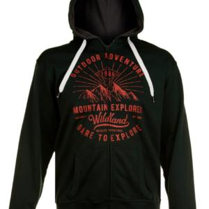 Printed Hood sweatshirtt