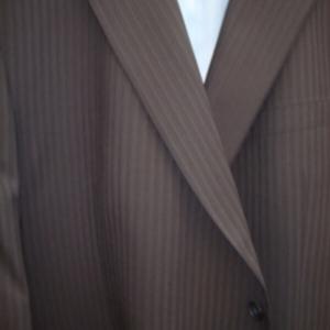 navy suit for big men from Hugo James