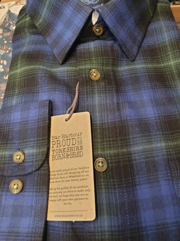 Bar-Harbour-Blue-Check-Shirt