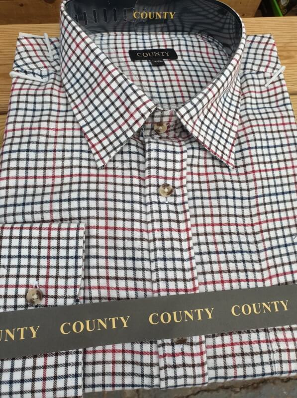 County-check-shirt-red
