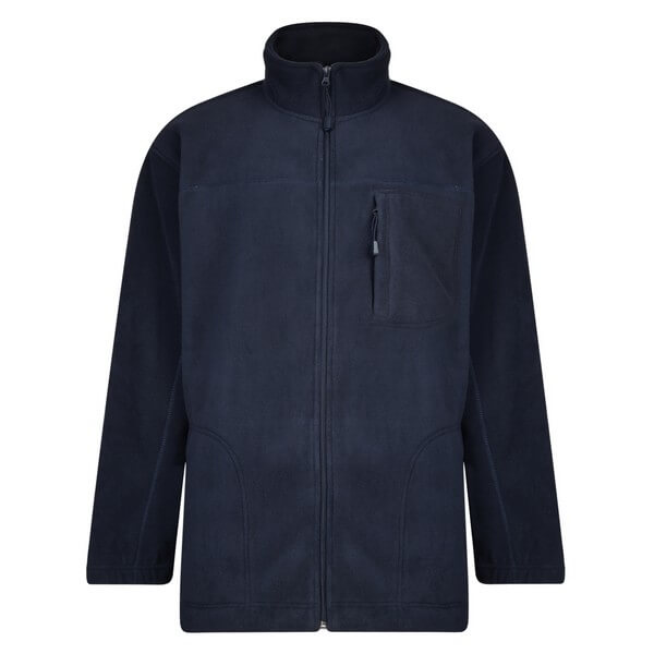 Espionage Navy Bonded Fleece Jacket