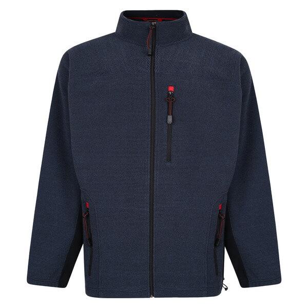 Espionage Ribbed Fleece Jacket