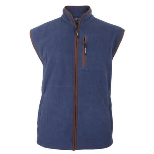 Metaphor Blue Fleece Bodywarmer