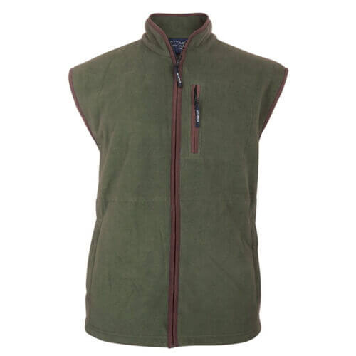 Metaphor Green Fleece Bodywarmer