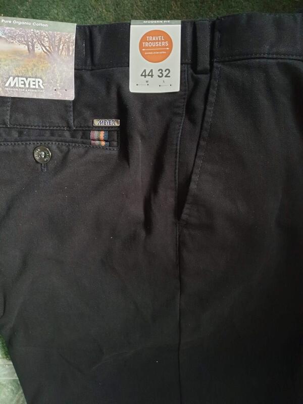 Meyer Oslo Trousers Black
