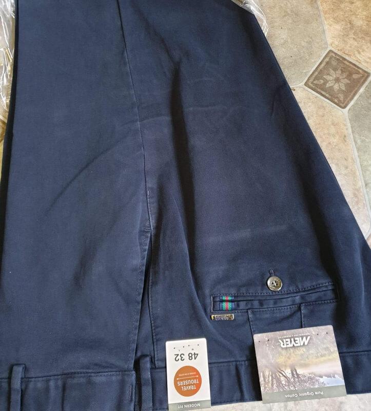 Meyer Oslo Trousers Blue
