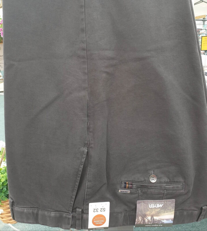 Meyer Oslo Trousers Charcoal