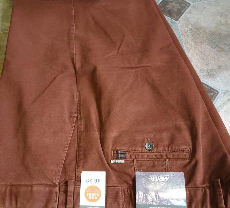 Meyer Oslo Trousers Rust