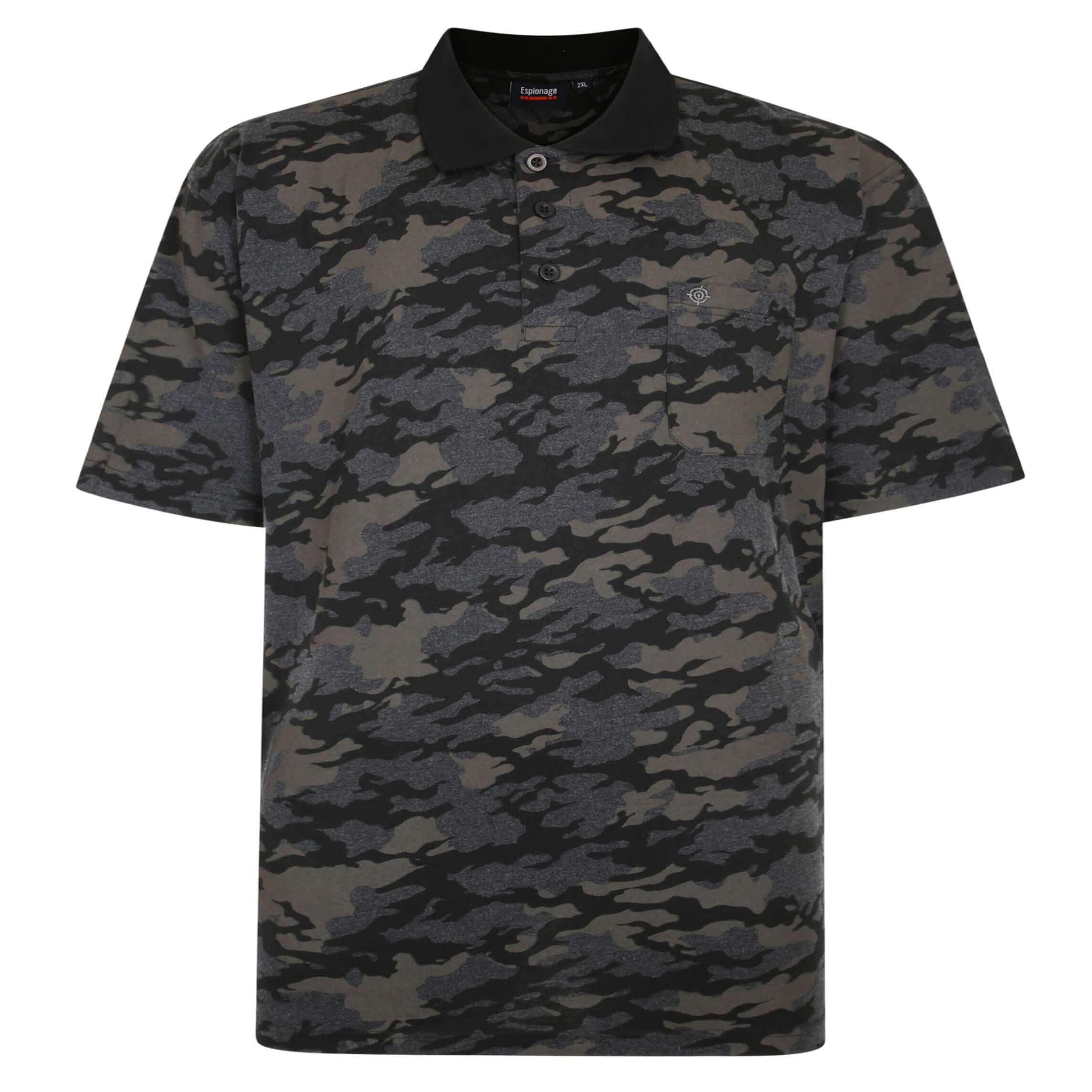 Espionage Camouflage Polo Shirt