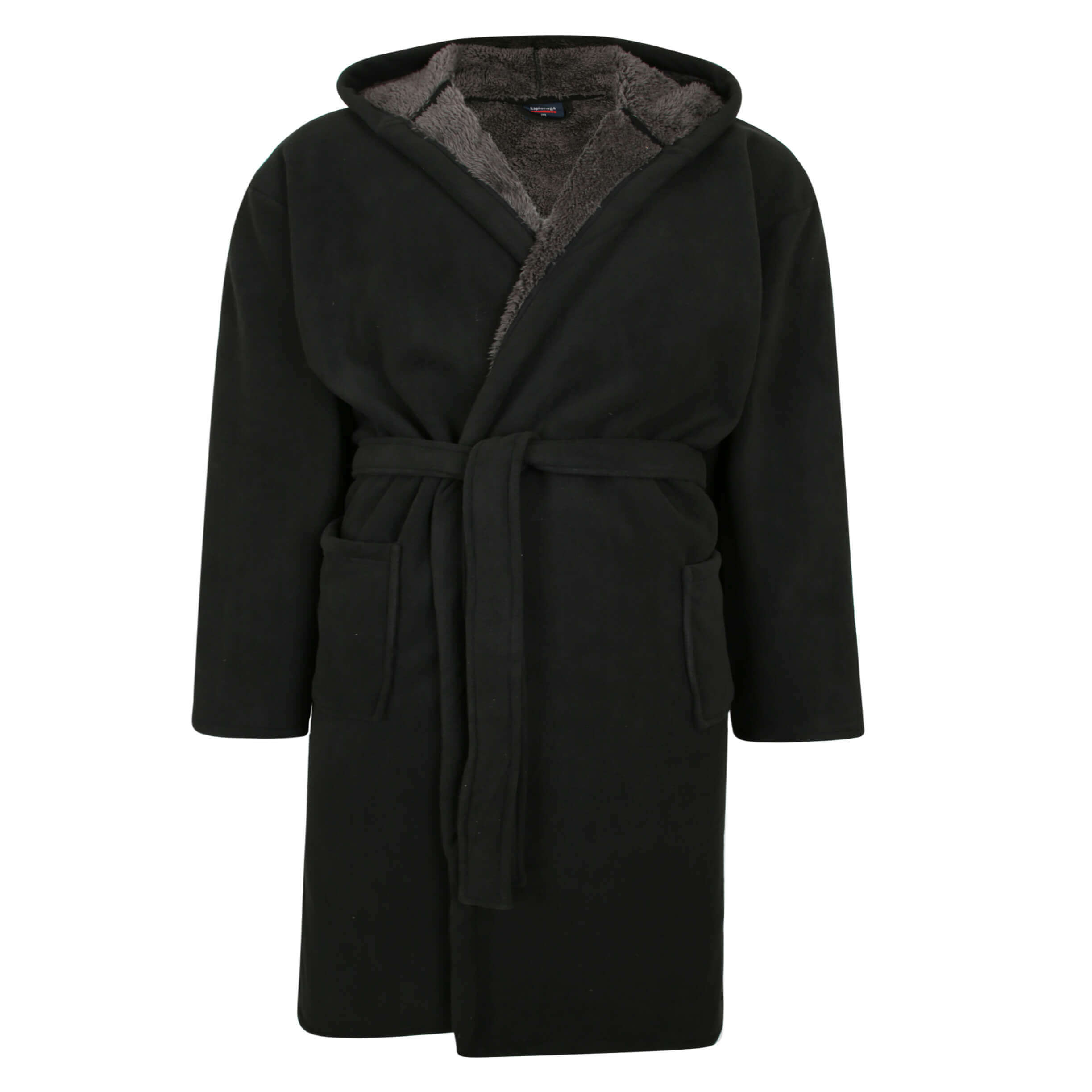 Espionage Hooded Dressing Gown