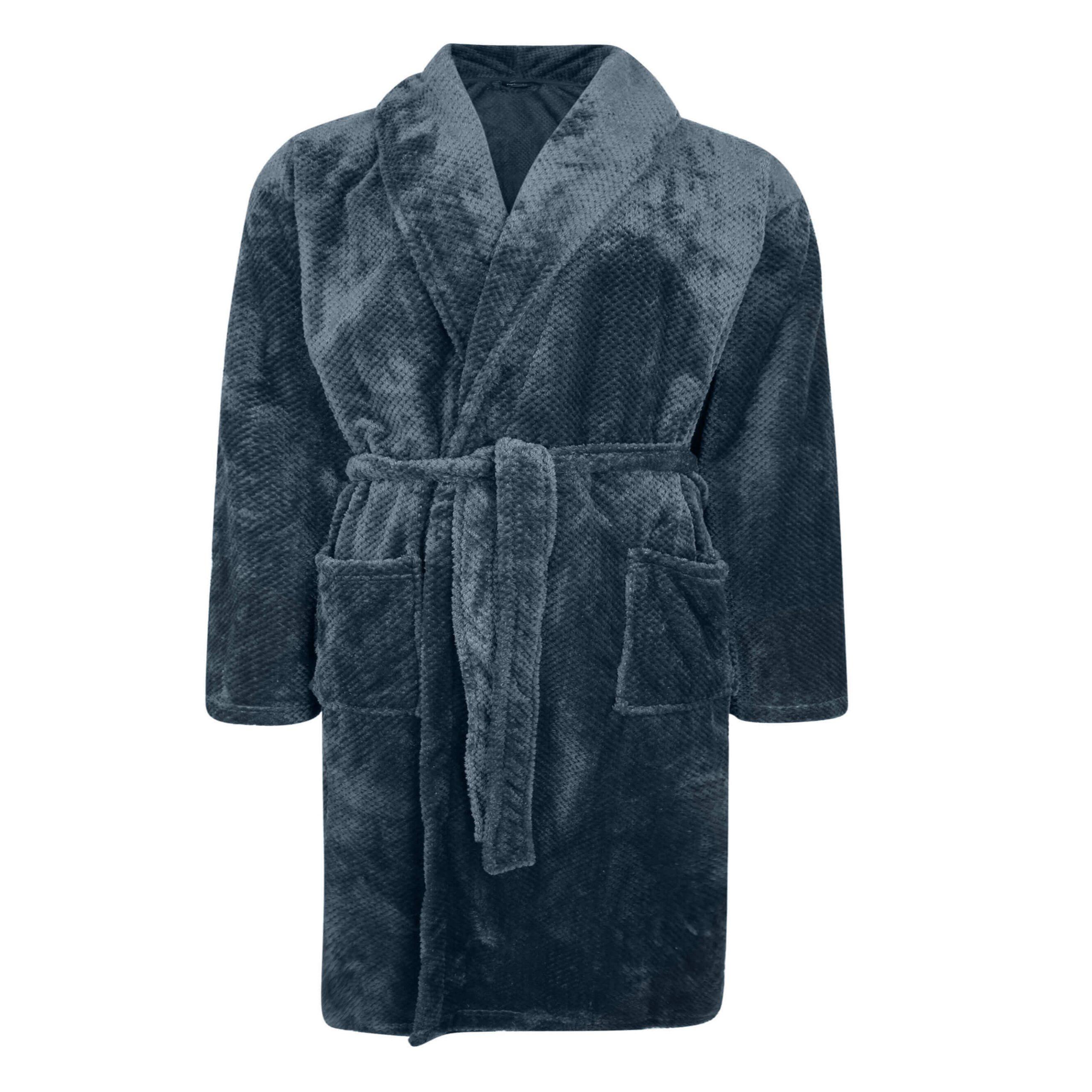 Espionage Microfleece Dressing Gown