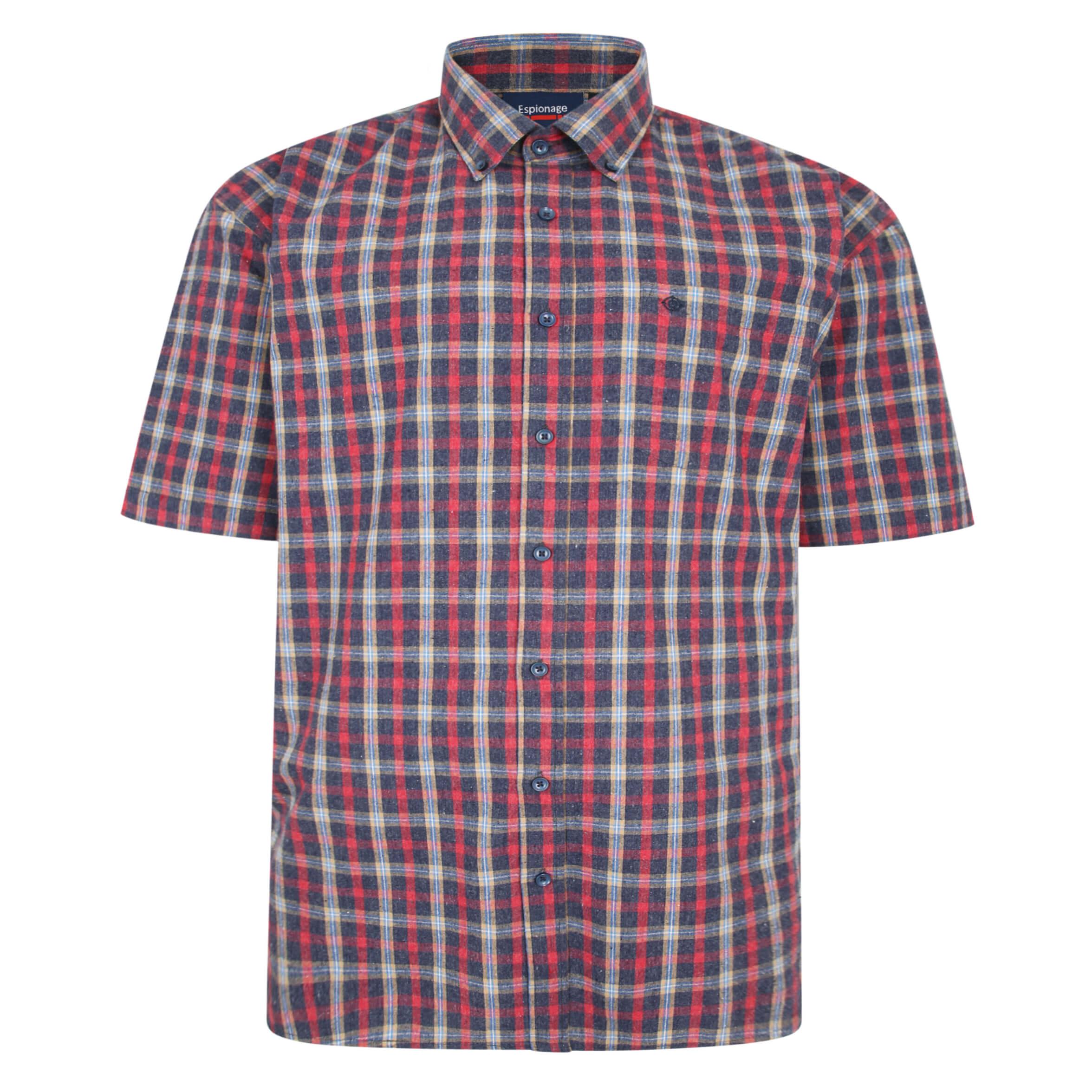 Espionage Short Sleeve Brushed Shirt