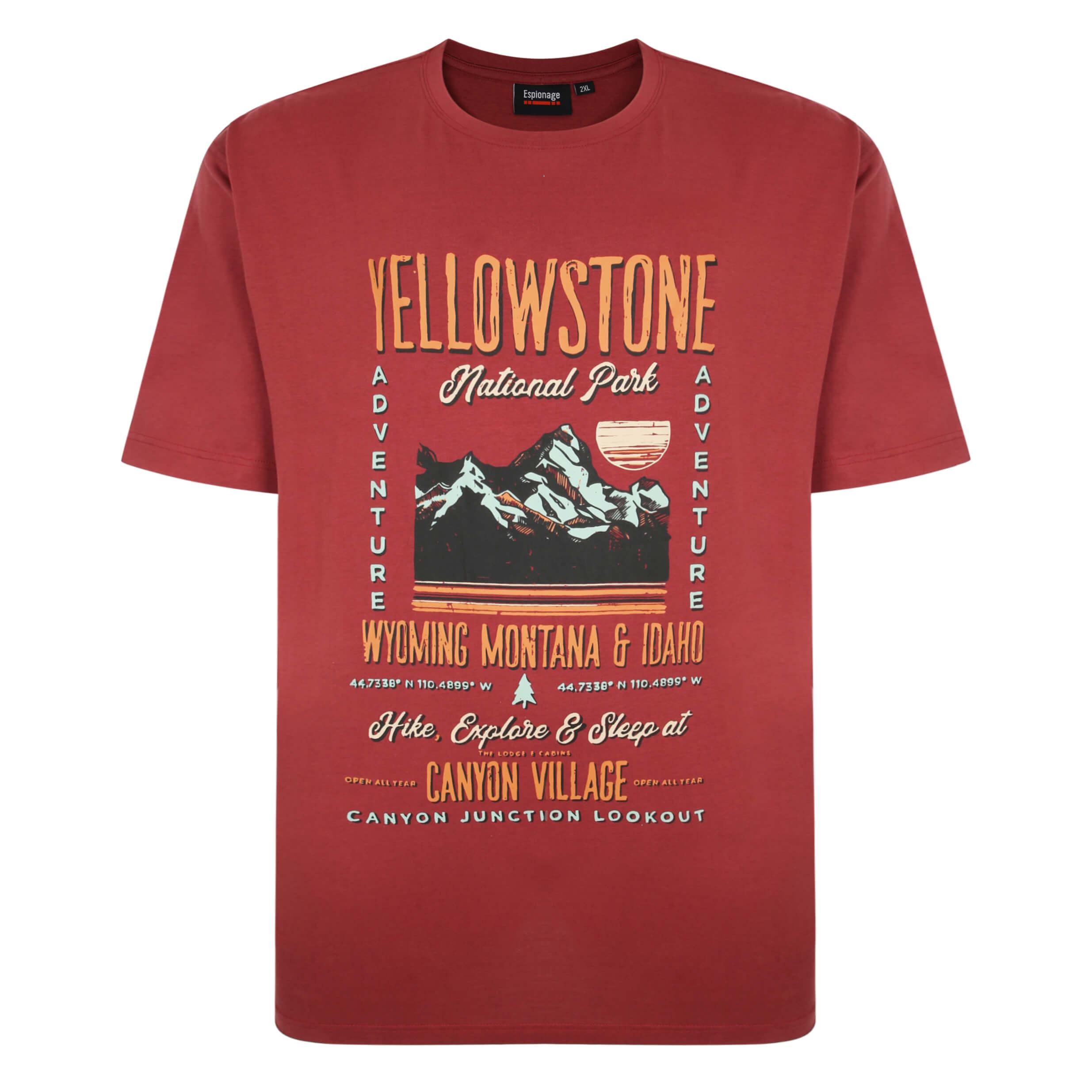 Espionage Printed Tee Shirts