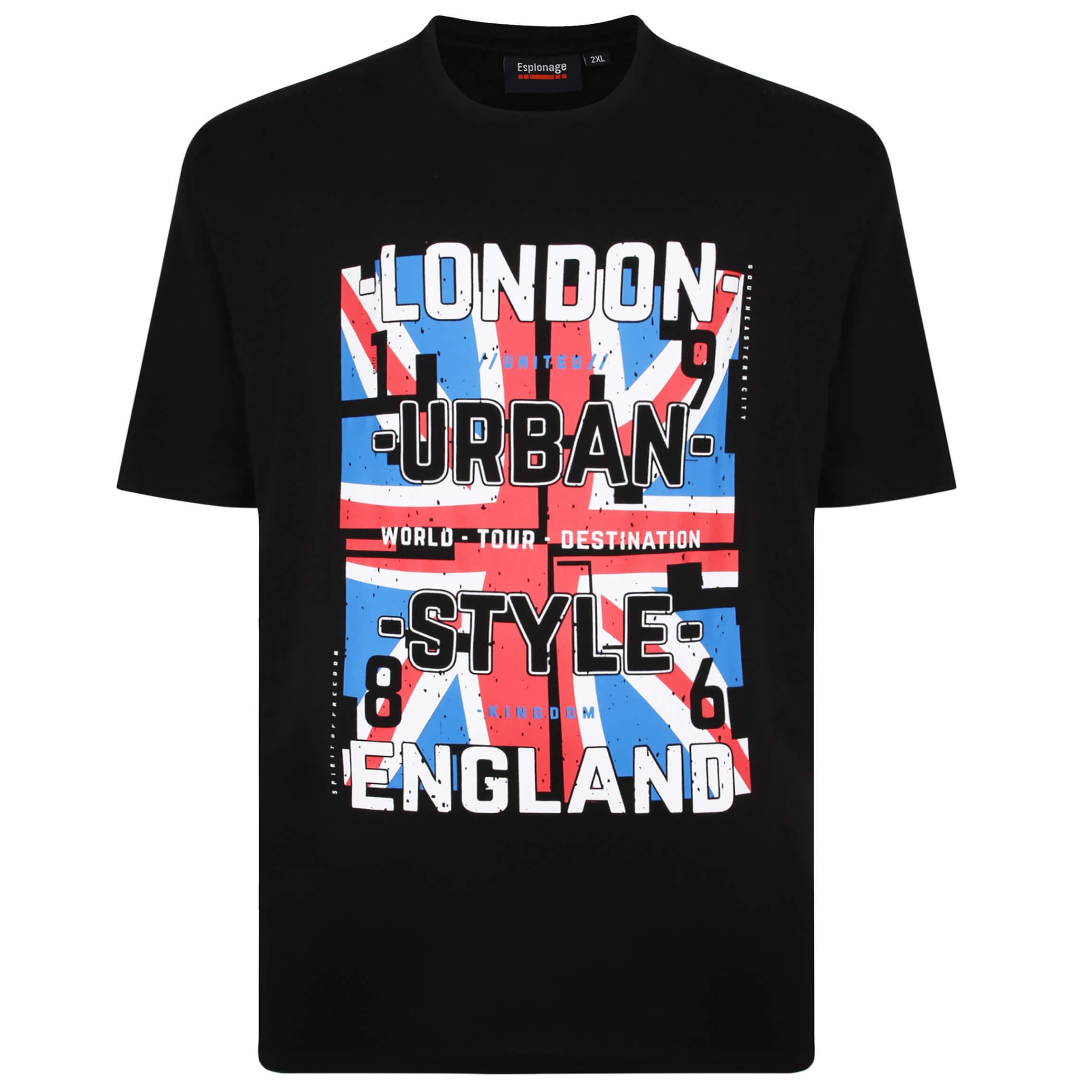 Espionage London Print Tee Shirt