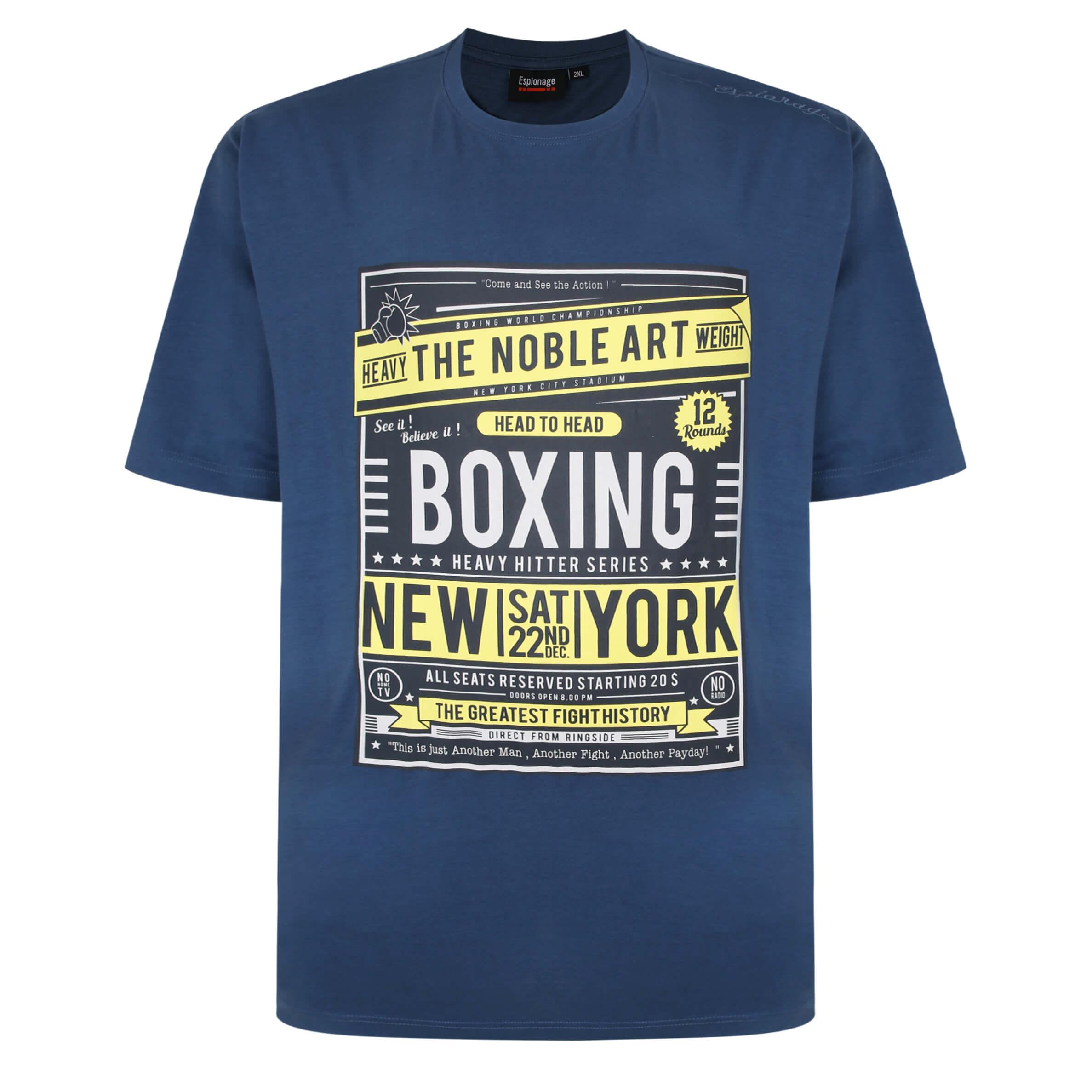 Tee Shirt Short Sleeve Boxing Theme