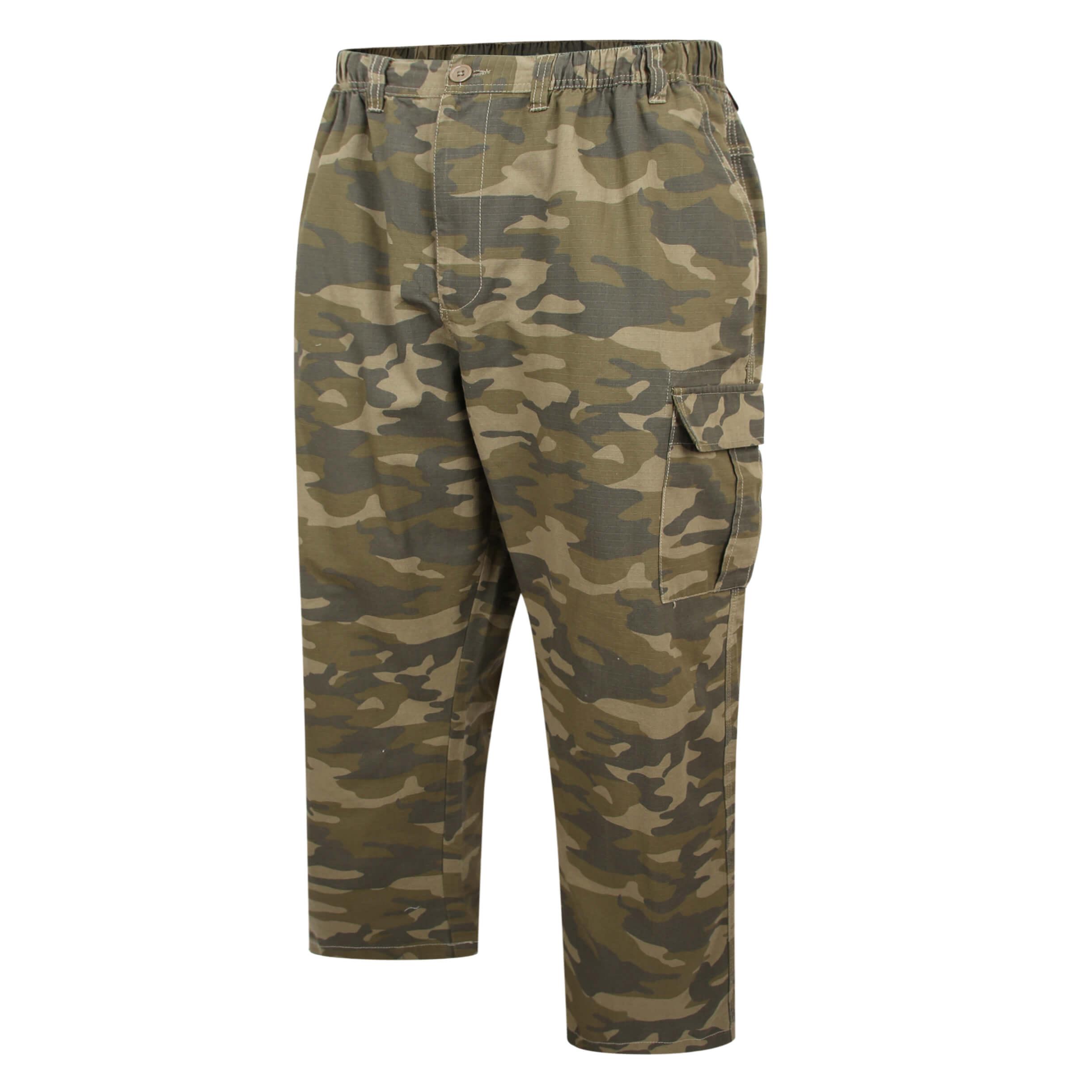 Espionage Camo Cargo Trousers