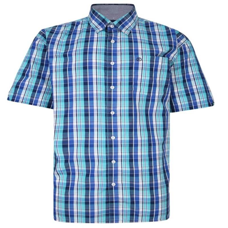 espionage-blue-check-shirt