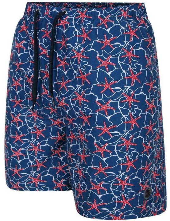 Espionage Starfish Design Swim Shorts