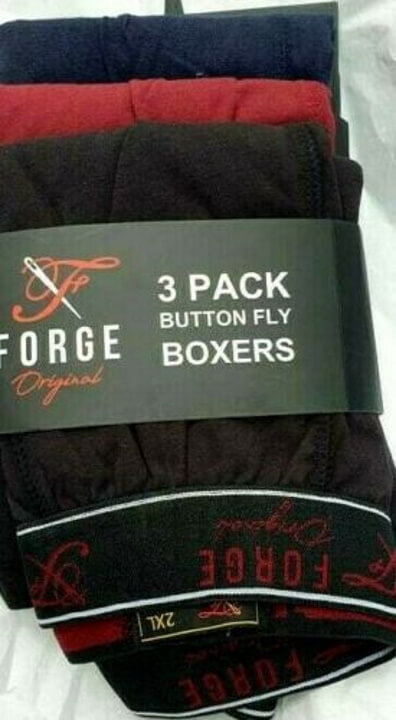 Forge Boxers 3 Pack